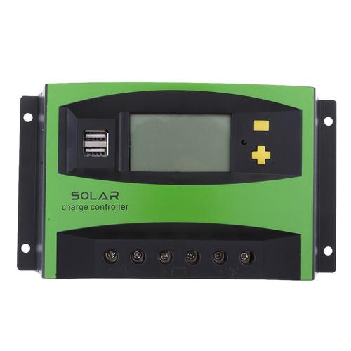 regulador del regulador de carga del panel solar de la exhi