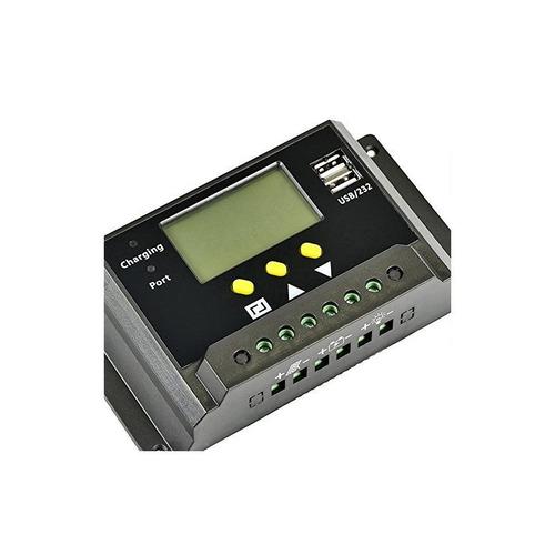 regulador del regulador de carga solar etvalley 30a 12v / 24