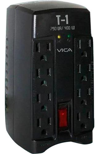 regulador electrónico de voltaje 750 va 400 watts 8 tomas 5-