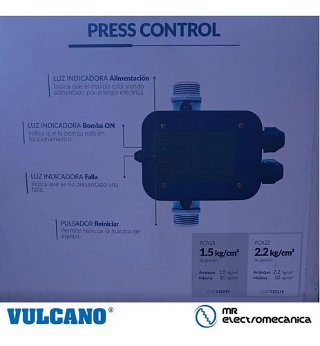 regulador electrónico p bombas vulcano press control pca15