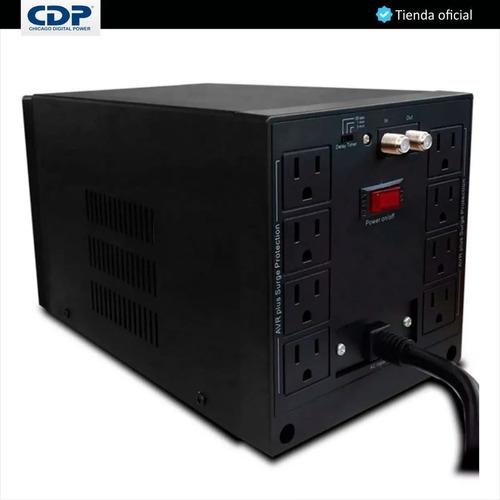 regulador estabilizador cdp r-avr 2408 2000va 1800w 8 tomas