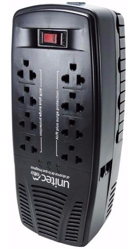 regulador estabilizador de voltaje unitec 2000va