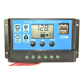 Regulador Panel Solar 30a Ltc Electronics Display Lcd + Usb
