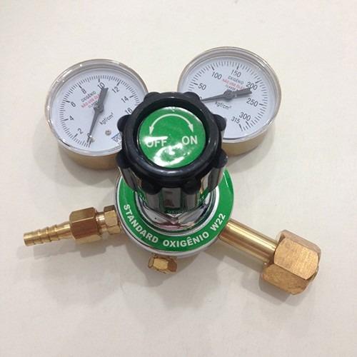 regulador para cilindro de oxigênio novo w22  wwsoldas