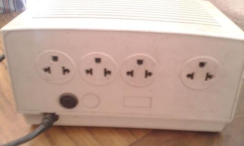 regulador protector de voltaje y pico apc 300 line r 4 tomas