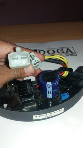 regulador rectificador avr p/generador 400v 220uf trifasico