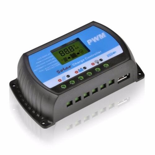 regulador solar digital 10a y 20a
