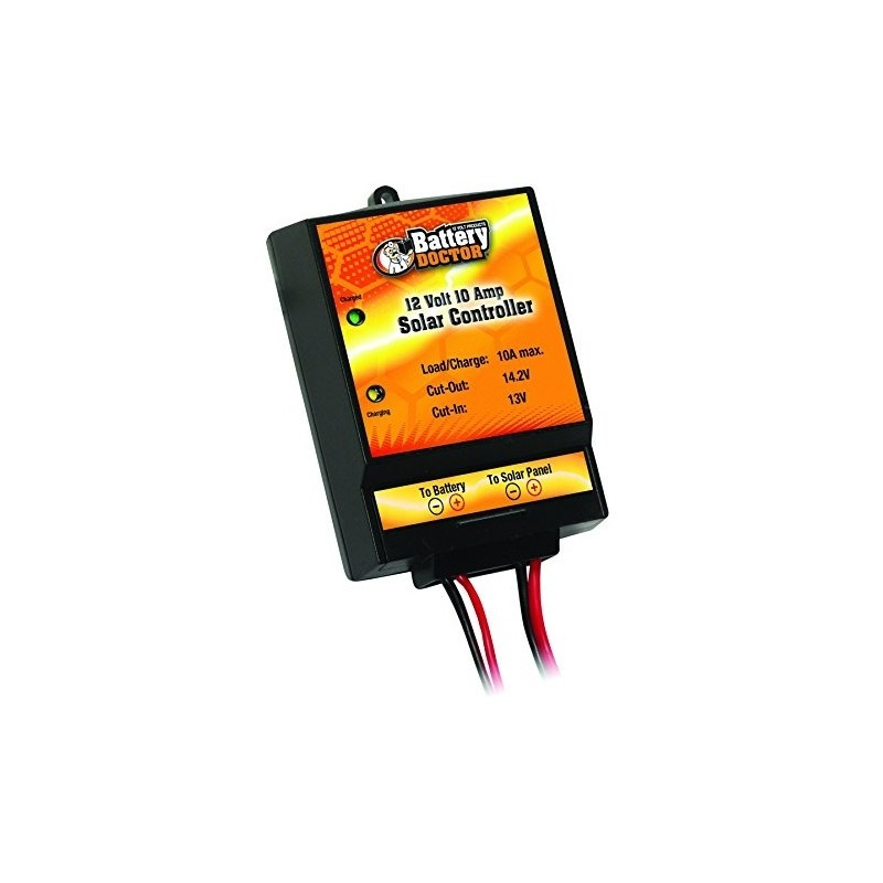 New 12 Volt 10 Amp Solar Regulator battery Doctor 23122 10 Amp Regulator