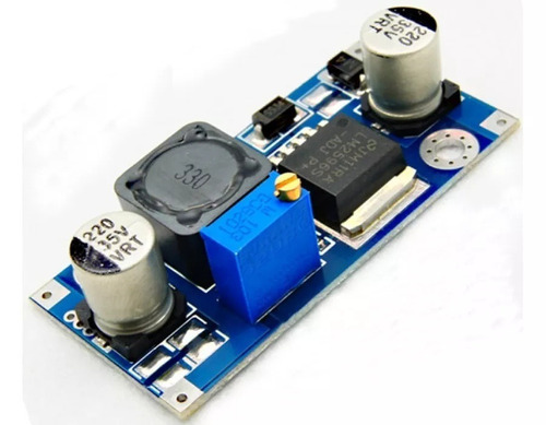 regulador tensão 3a step-down lm2596 arduino pic kit 10 pcs
