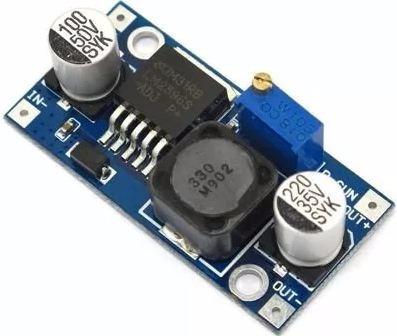 regulador tensão 3a step-down lm2596 arduino pic kit 50 pcs