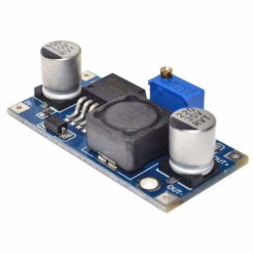 regulador tensão step down buck dc-dc lm2596 3a arduino pic