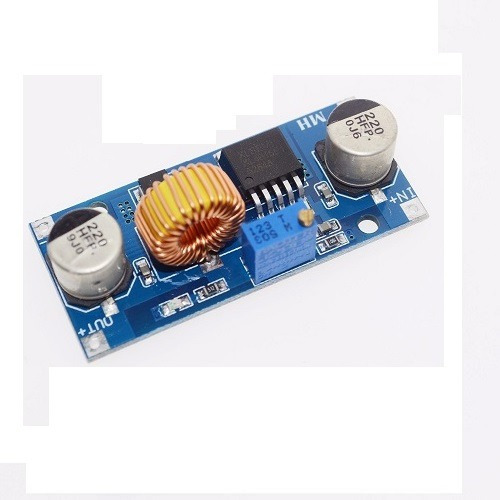 regulador tensão step down buck xl4015-5a dissipador-cod.79
