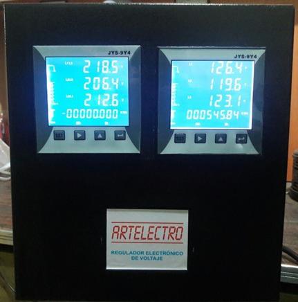 regulador trifasico 3,5,6,9,10... kva y mas marca artelectro