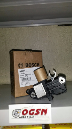 regulador voltagem  bosch a3 golf gol fox polo new beatle