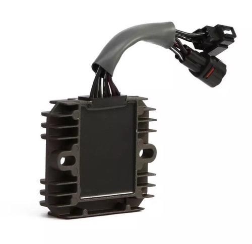 regulador voltagem vstrom dl1000 1 ano garantia 7 fios novo