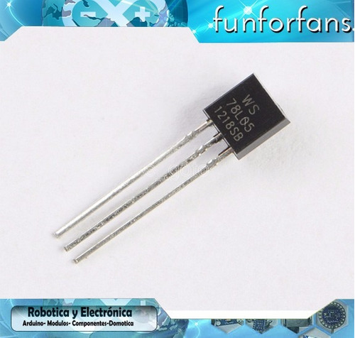 reguladores de voltaje ic lm78l05  arduino raspberry pic