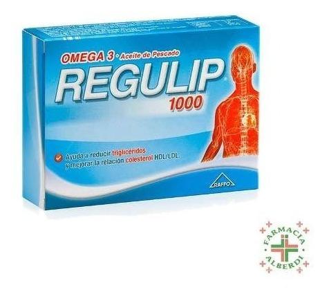 regulip 1000 x 50 comprimidos - farmacia alberdi