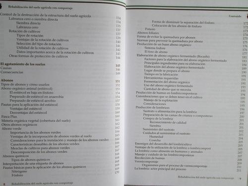 rehabilitación del suelo agrícola con compostaje - g. latino
