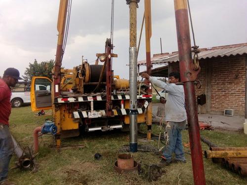 rehabilitación, perforación y equipamiento para agua potable