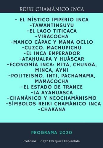 reiki chamanico inca