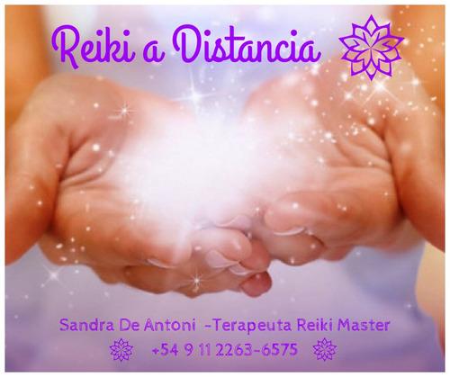 reiki y sanacion angelical a distancia( 5 sesiones)