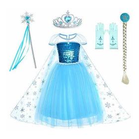 Reina De Las Nieves Princesa Elsa De Disfraces Vestido De Ha