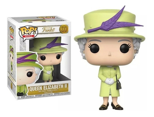 reina isabel ii funko pop elizabeth queen royal verde