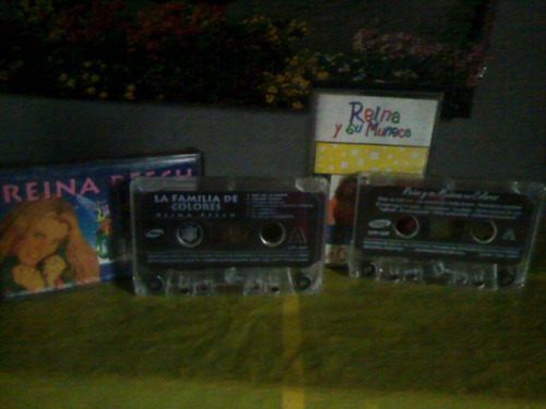 reina reech- l o t e 2 cassettes