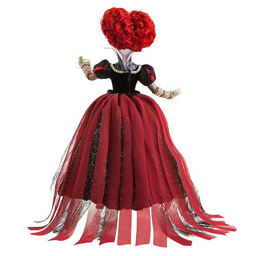 reina roja de alice through the looking glass de disney