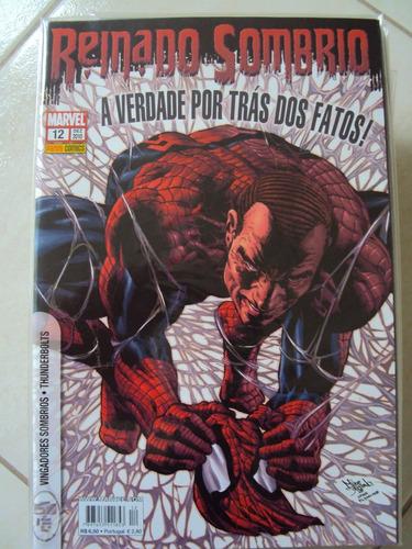 reinado sombrio # 12 - marvel comics - panini