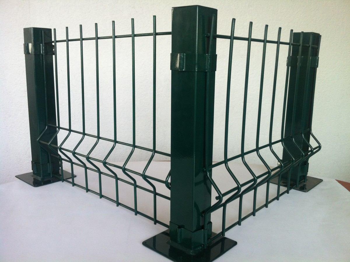 Reja de acero fabricado con malla electrosoldada rejacero for Reja para jardin vertical