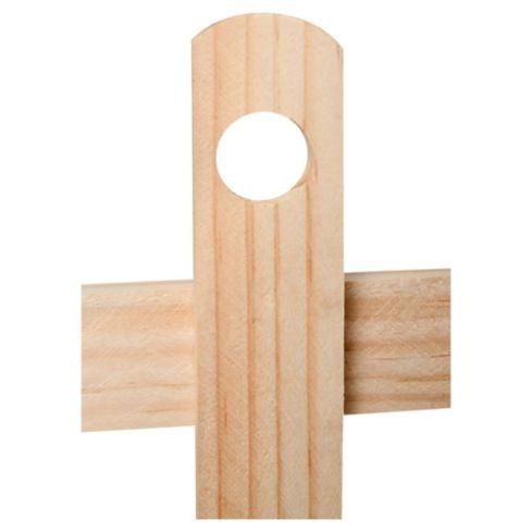 reja de madera grande para jardin piscina huerto decoración