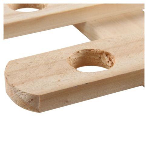 reja de madera pequeña para jardin piscina huerto decoración