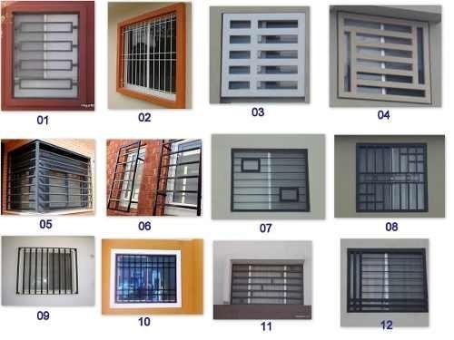 Rejas De Seguridad Para Ventanas Rejas De Seguridad Y Decorativas