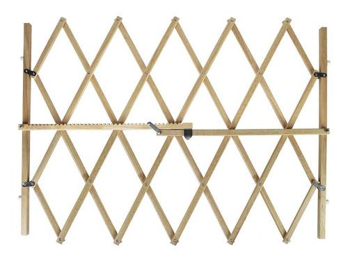 reja madera extensible 65 a 104 fancy pets 83 alto fl9050