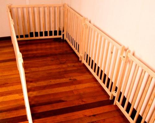 reja para armar corral desmontable 100% madera diseño autor