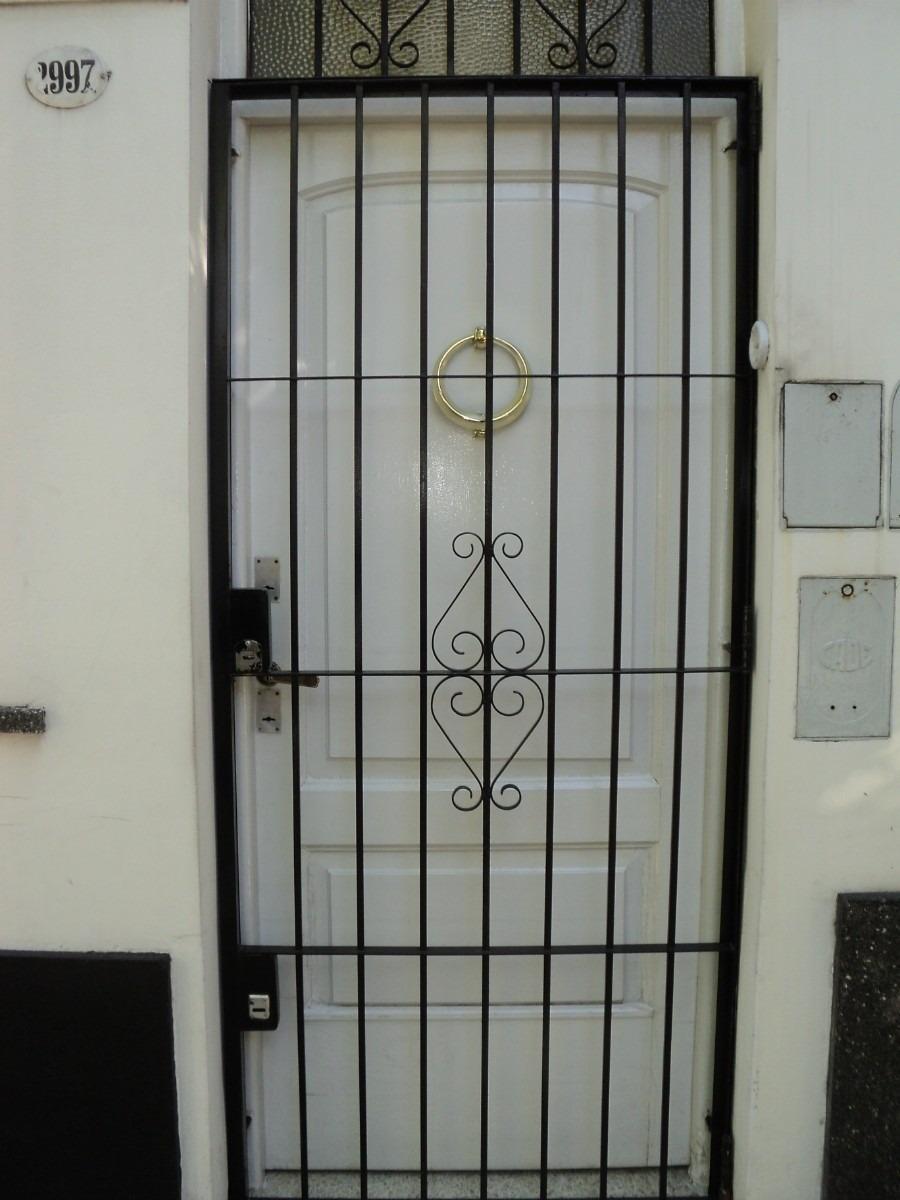 Reja para puerta en mercado libre - Puertas de reja ...