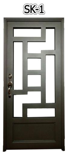 reja para puertas en merida