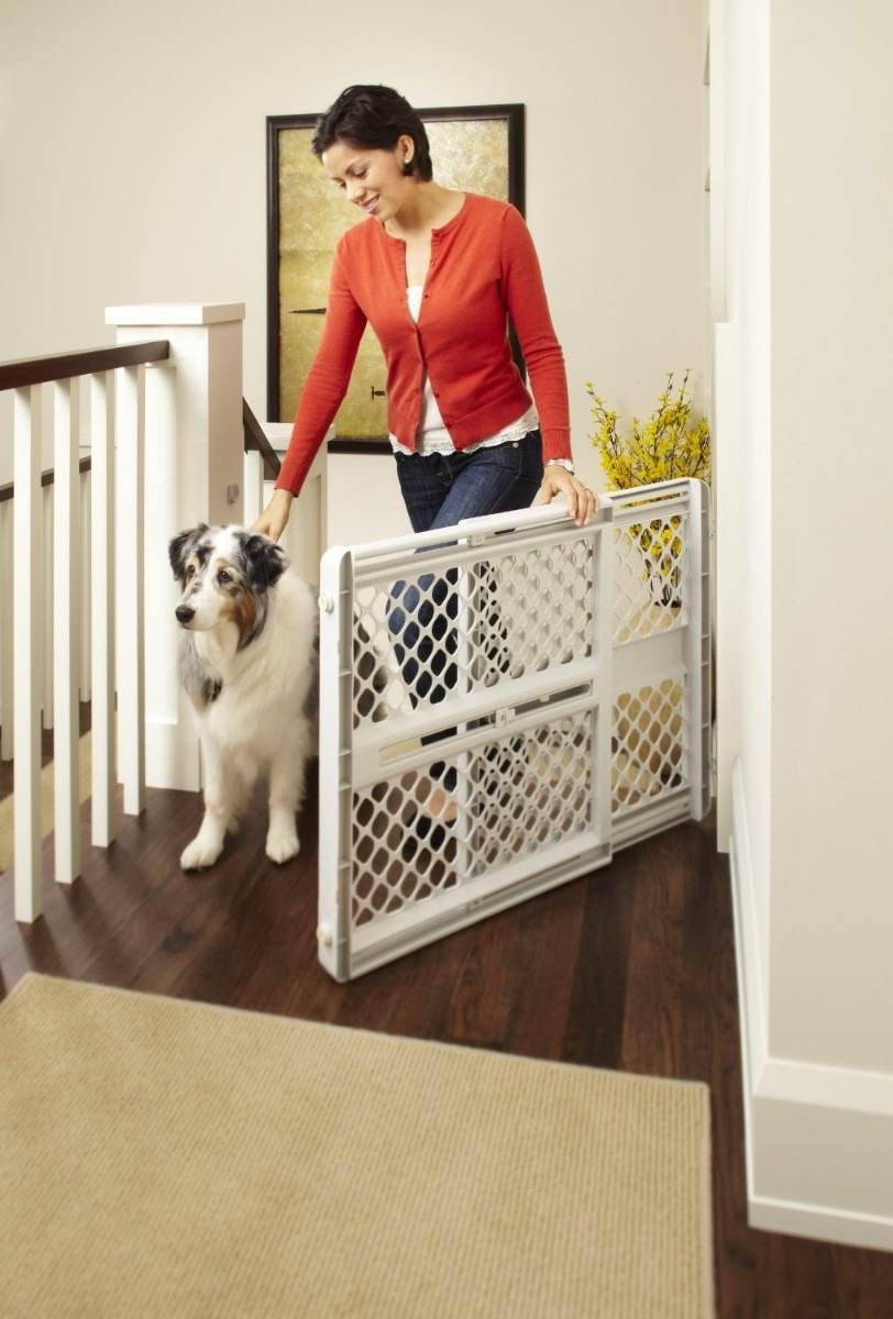 Reja puerta de seguridad north states para bebe o mascotas - Puertas de seguridad ninos ...