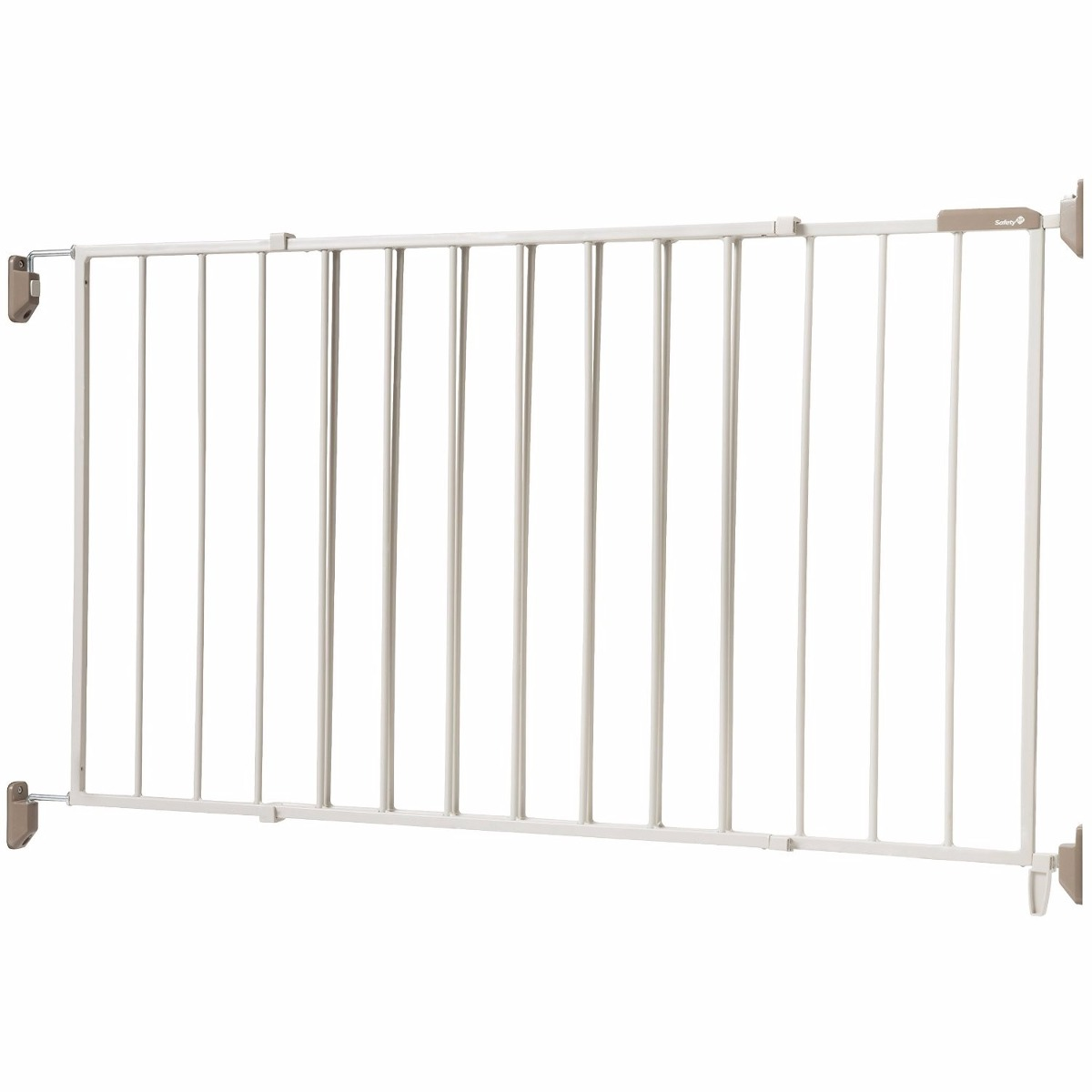 Reja puerta de seguridad para bebe o mascota extra ancha for Puerta seguridad perros
