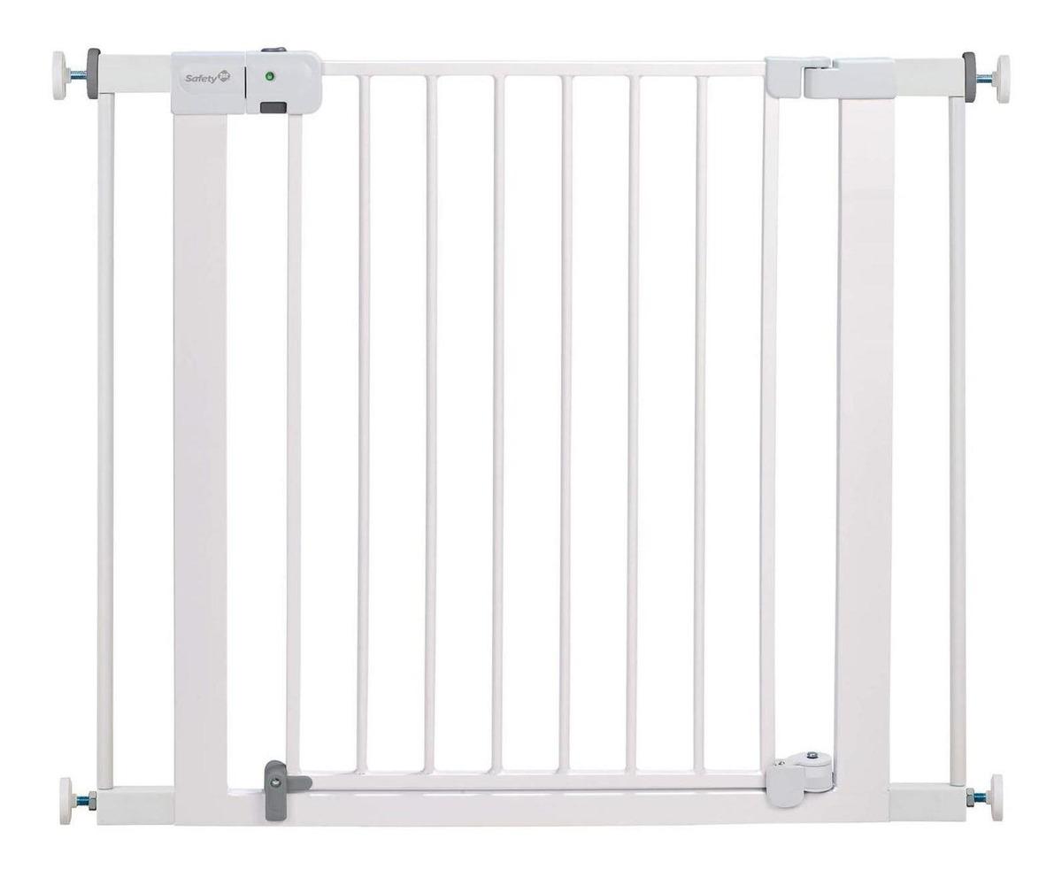 /blanco Safety 1st SecurTech Auto Cerrar Puerta de metal/