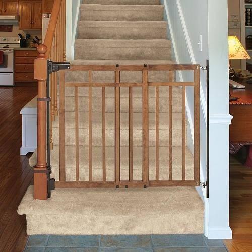 reja puerta seguridad para escalera madera summer no On puertas para tapar escaleras