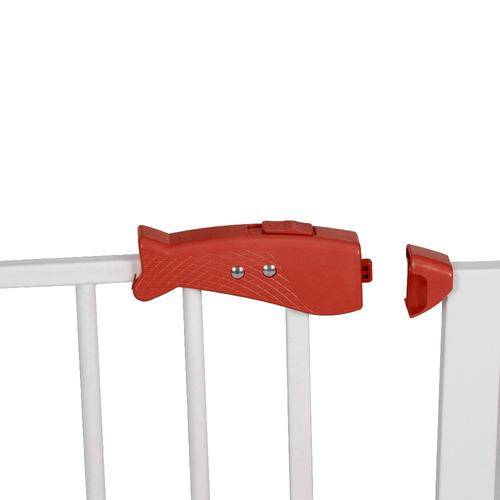 reja seguridad bebeglo protección escaleras cuarto bebe rojo