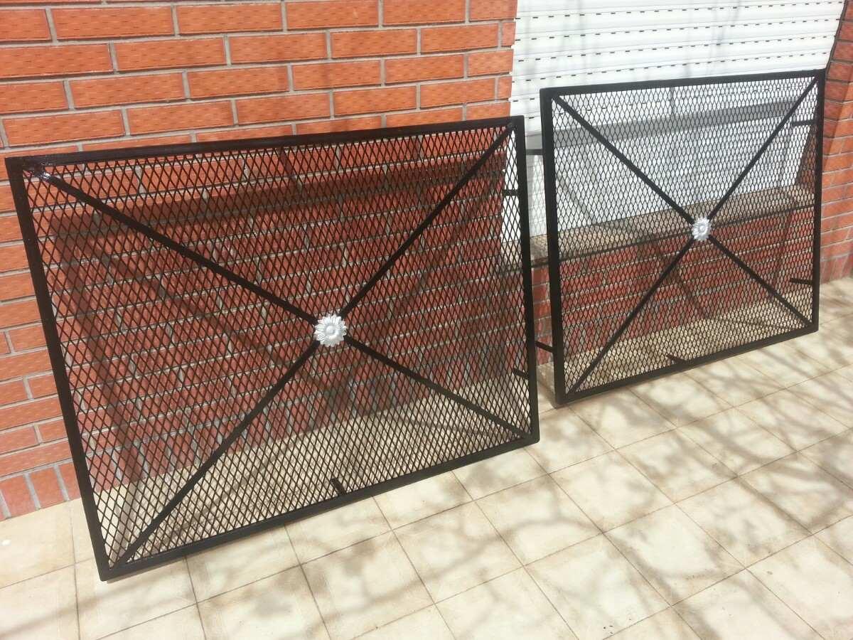 rejas cerramientos puertas modernas material desplegado