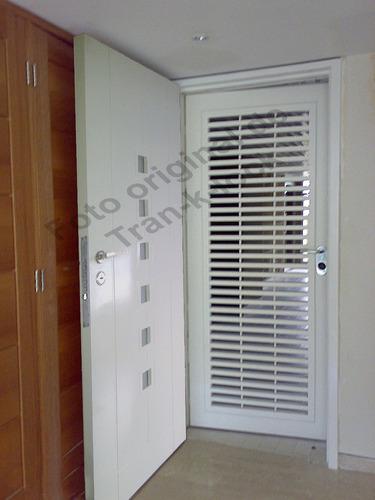 rejas de seguridad y puertas blindadas