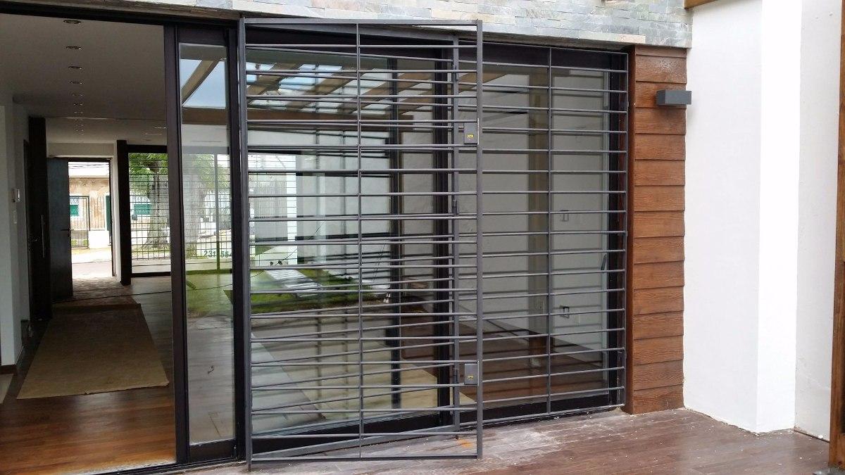 Rejas de todo tipo todo en herreria 100 00 en mercado for Tipos de puertas de casa