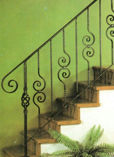 rejas escaleras perimetrales herreria