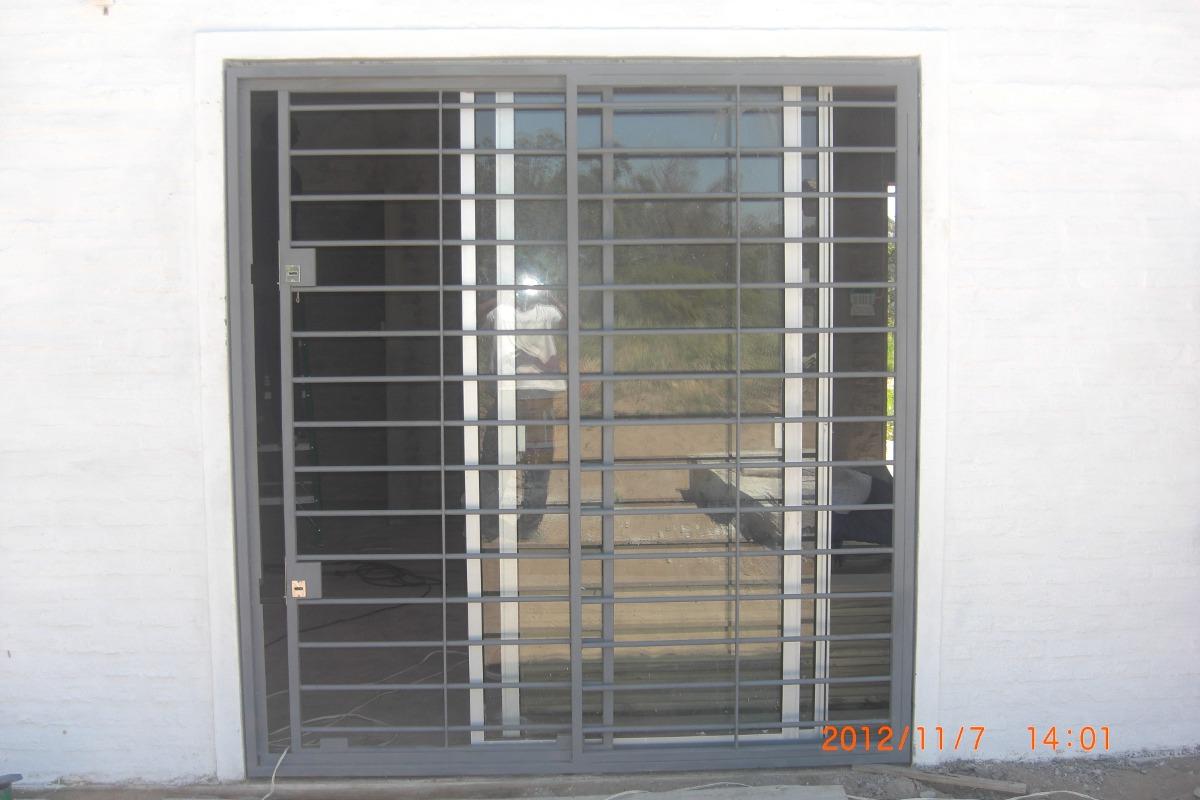 Rejas fijas para ventanas 39 39 en mercado libre for Ventana aluminio 120x120