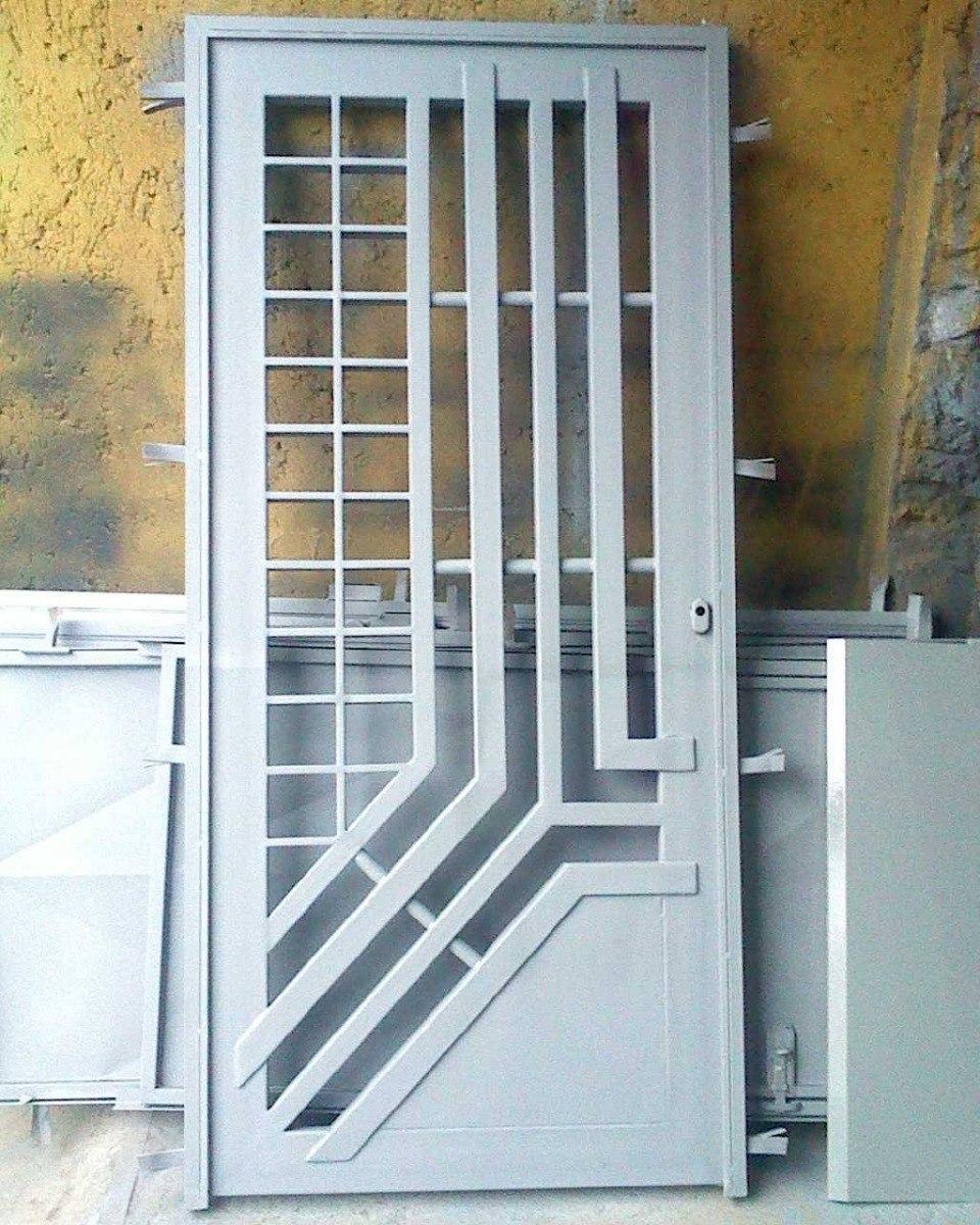Rejas metalicas de seguridad para puertas bs en mercado libre - Puertas de reja ...
