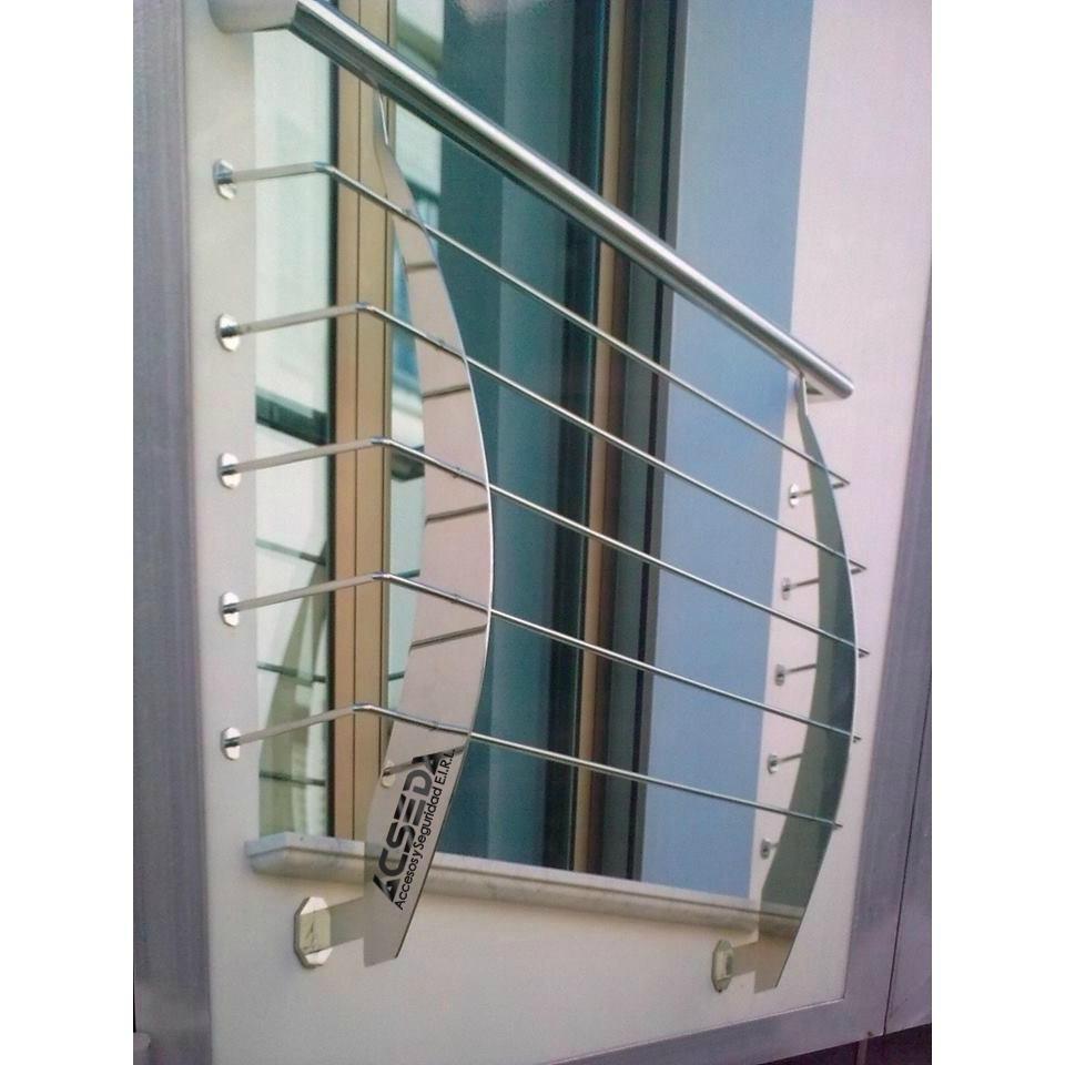 Rejas met licas y protectores plegables para mamparas s - Escaleras metalicas plegables ...